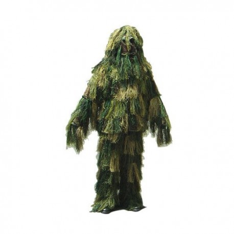GHILLIE SUIT WOODLAND M-L