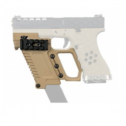 KIT TACTICO PARA GLOCK 17/18/19 TAN