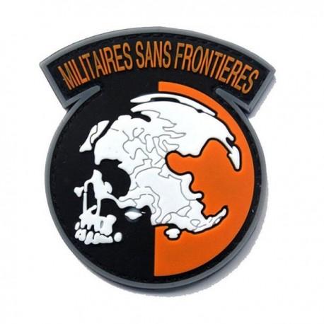 PARCHE MILITARES SIN FRONTERAS