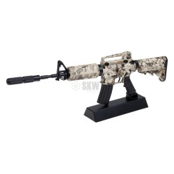 REPLICA A ESCALA FUSIL M4 CAMO DIGITAL GHOST