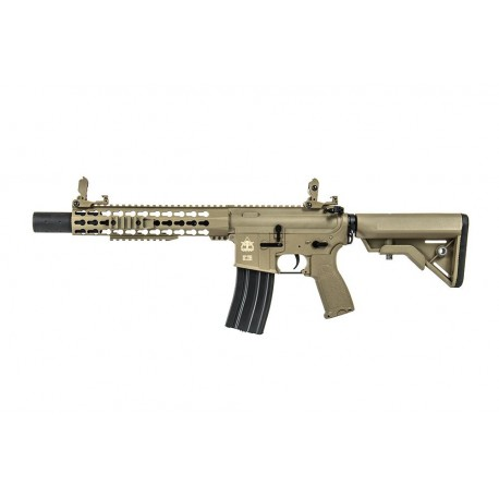 FUSIL M4 EVOLUTION RECON S 10 SILENT OPS TAN