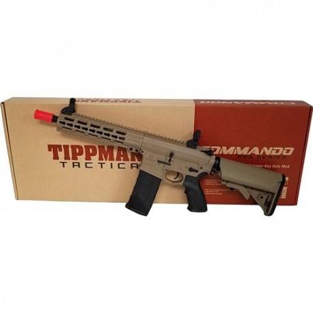 FUSIL M4 TIPPMANN COMANDO CQB 10.5 TAN + LIPO