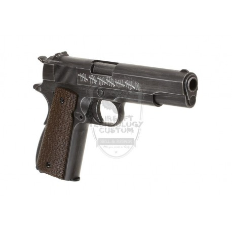 PISTOLA 1911 MOLON LABE GAS FULL METAL AW CUSTOM