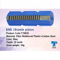 PISTON 15 DIENTES METALICOS SHS