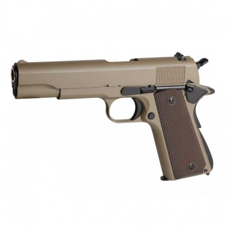 PISTOLA 1911 A1 GAS GOLDEN EAGLE TAN