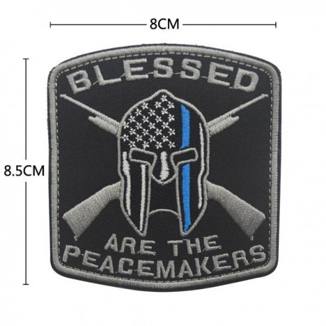 PARCHE BLESSED ARE THE PEACEMAKERS