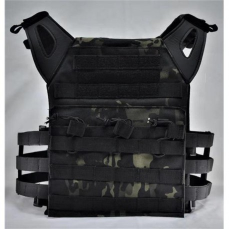 CHALECO TACTICO JPC MULTICAM BLACK