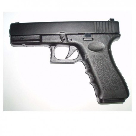 PISTOLA G17 GAS HFC NEGRA (VERSION METAL-ABS)