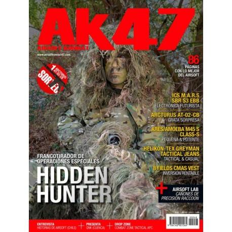 REVISTA AK47 Nº48 HIDDEN HUNTER