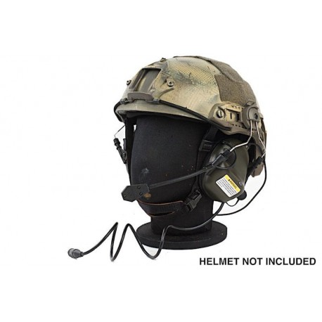 EARMOR TACTICAL HEARING PROTECTION M32 CASCO VERDE