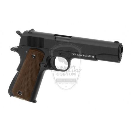 PISTOLA M1911 FULL METAL KJWORKS NEGRA