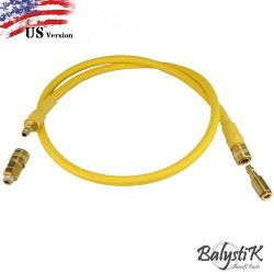 MANGUERA BALYSTIK PARA REGULADOR US VER. DARK GOLD