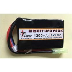 BATERIA LIPO 7.4V 1300mah 20C iPOWER