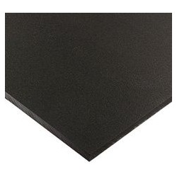 PLACA KYDEX 297mm X 297mm X 2mm NEGRO MATE