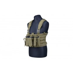 CHALECO CHEST RIG TACTICAL VEST VERDE OD
