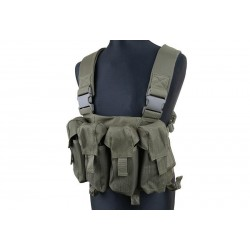 CHALECO CHEST RIG TACTICO VERDE