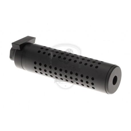 SILENCIADOR QD 145 mm NEGRO PIRATE ARMS