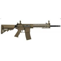 FUSIL M4 LT-19 G2 Keymod 10' combo TAN LANCER TACT
