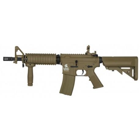 FUSIL M4 LT-02 CQBR combo TAN LANCER TACTICAL