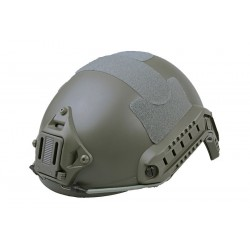 CASCO FAST X-SHIELD MH VERDE HIERBA