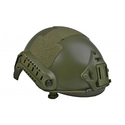 CASCO FAST X-SHIELD MH VERDE OLIVA