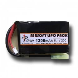 BATERIA LIPO 11.1V 1300mah 20C iPOWER