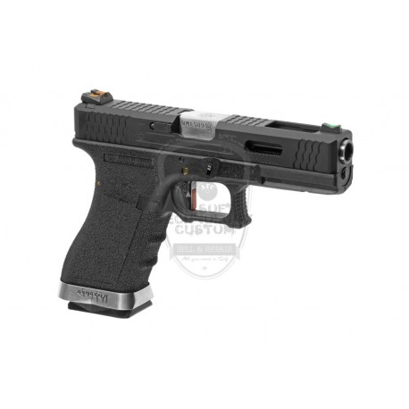 PISTOLA GLOCK 18 CUSTOM VER. METAL NEGRA WE
