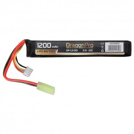 BATERIA LIPO 11.1V 1200 mah 20C DRAGONPRO