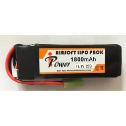 BATERIA LIPO 11.1V 1800mah IPOWER T DEAN