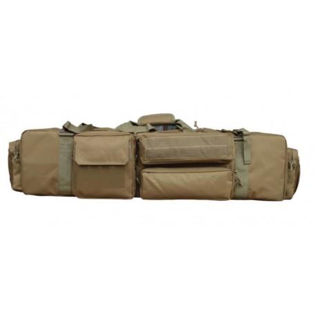 FUNDA RIFLE 100 cm PARA M249 TAN