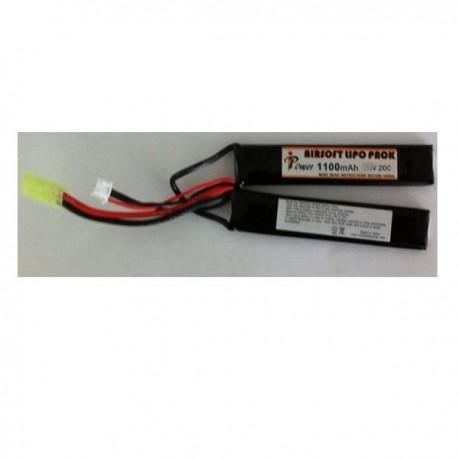 BATERIA LIPO 11.1V 1100 mah 20C 1+ 1 IPOWER