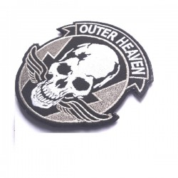 PARCHE OUTER HEAVEN SKULL