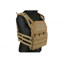 CHALECO TACTICO JUMP PLATE CARRIER TAN