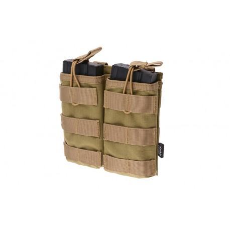POUCH DOBLE PARA M4/AK/G36 TAN