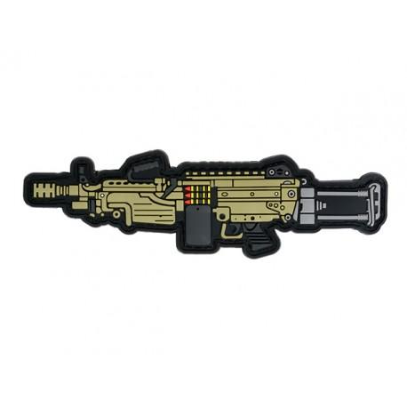 PARCHE M249 PVC