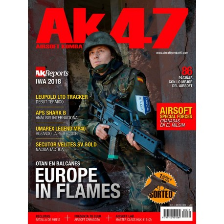 REVISTA AK47 Nº41 OTAN EN BALCANES